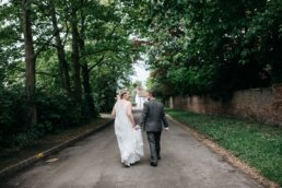 Farmyard wedding at Jolene and Davids home in Lincolnshire